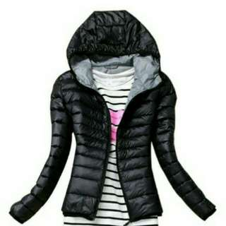 Winter Padded Hooded Lightweight Jacket