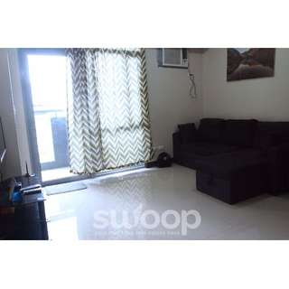 Fully furnished Studio Unit with Balcony for Rent in Manhattan Heights, Cubao, Quezon City