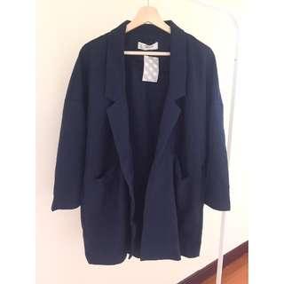 ✨二手衣物✨ 中長款 薄西裝外套