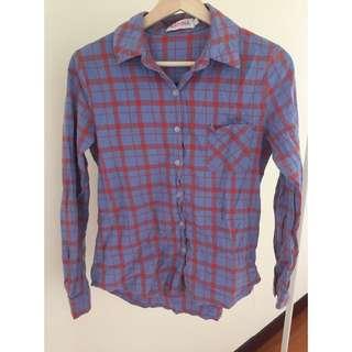✨二手衣物✨ 格紋襯衫