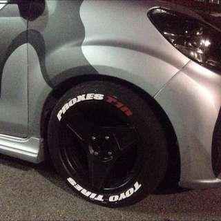 wonky tire design