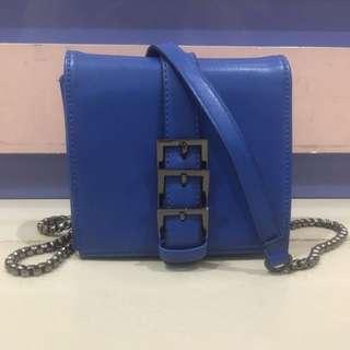 Blue Mini Crossbody
