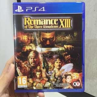 Romance Of The Three Kingdoms XIII - PS4