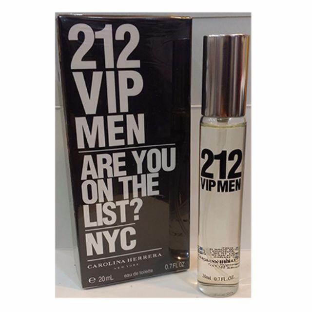8702cf5b0 free shipping  212 VIP Men 20ml