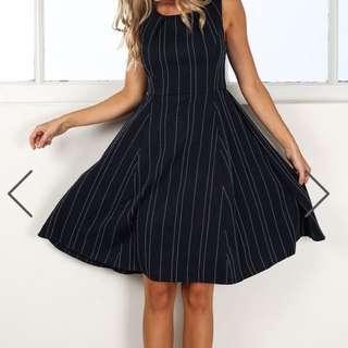 Size 12 Navy Work Dress
