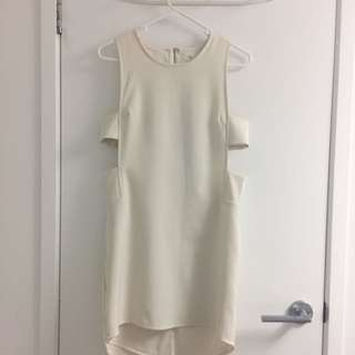 Size 6 White Dress