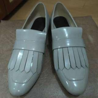 Mango - Light Grey Slip-ons (Original) Size 38