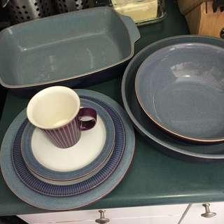 Denby Storm Dish Set