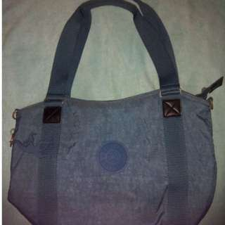 Original Blue Kipling Tote inclusive of Rubber Stamp Monkey and Wallet