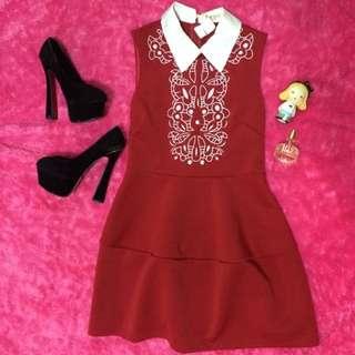 💃🏻Korean Red Dress💃🏻