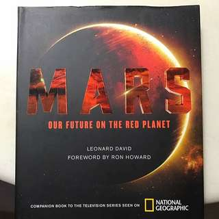 National geographic limited edition MARS