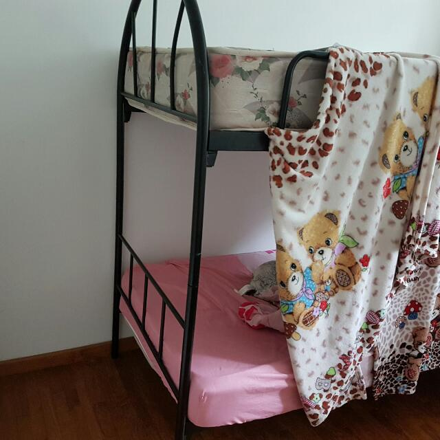 2 Bed Frame With Single Mattres. 100 Each.