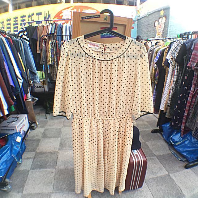 日本古著洋裝