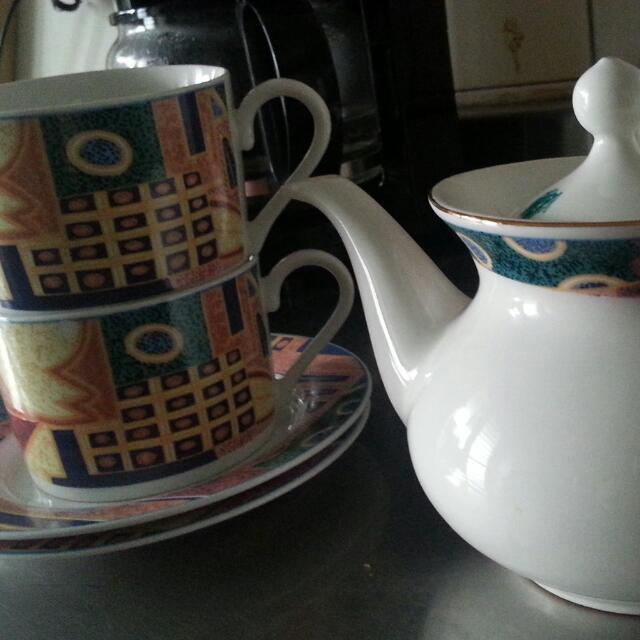 英式下午茶 茶壺茶杯