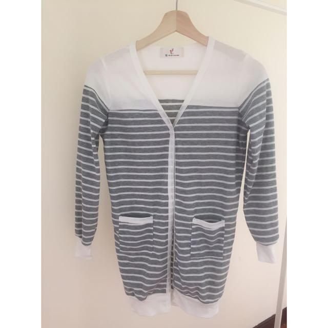 ✨二手衣物✨ 條紋針織衫 外套