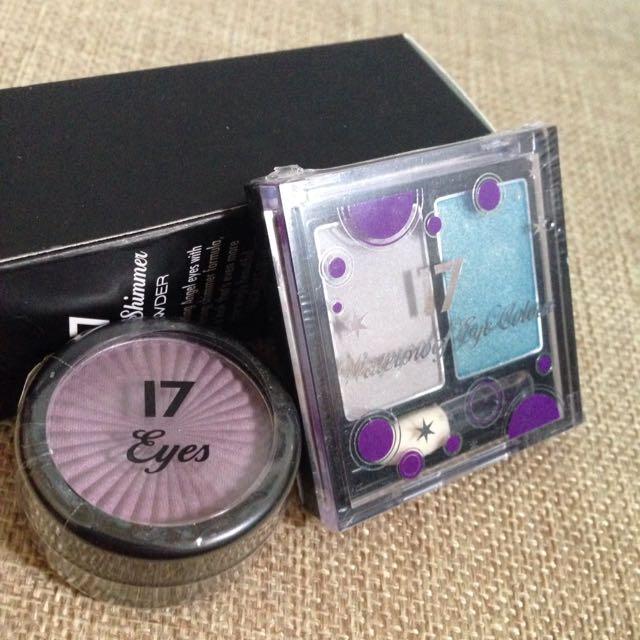 紫色眼影/雙色眼影 Boots17
