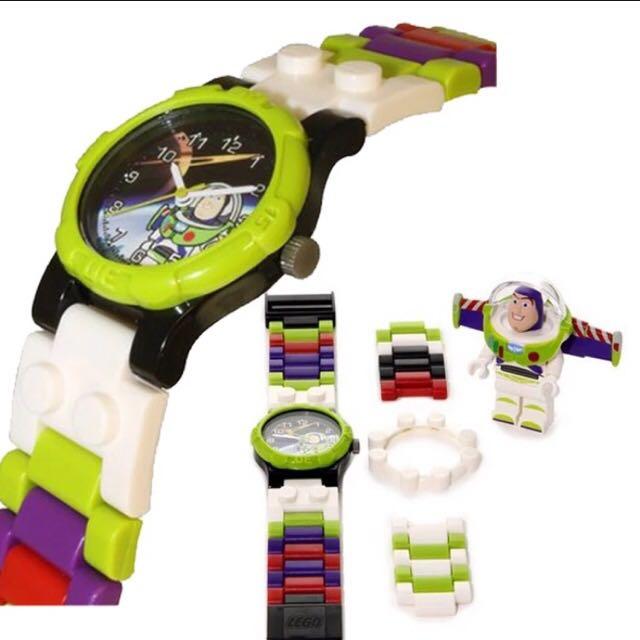 樂高手錶 lego手錶 巴斯光年 胡迪 玩具手錶 組裝 精準 積木手錶 樂高 LEGO(不含巴斯光年樂高模型)