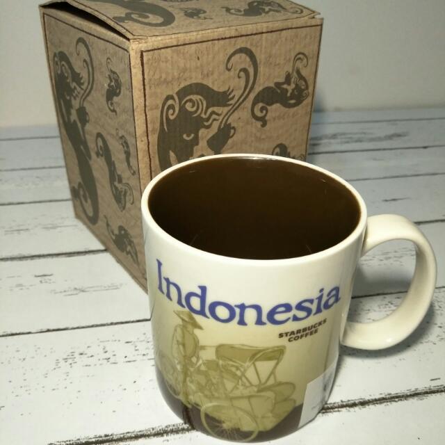 星巴克 Starbucks 城市杯 印尼 Indonesia