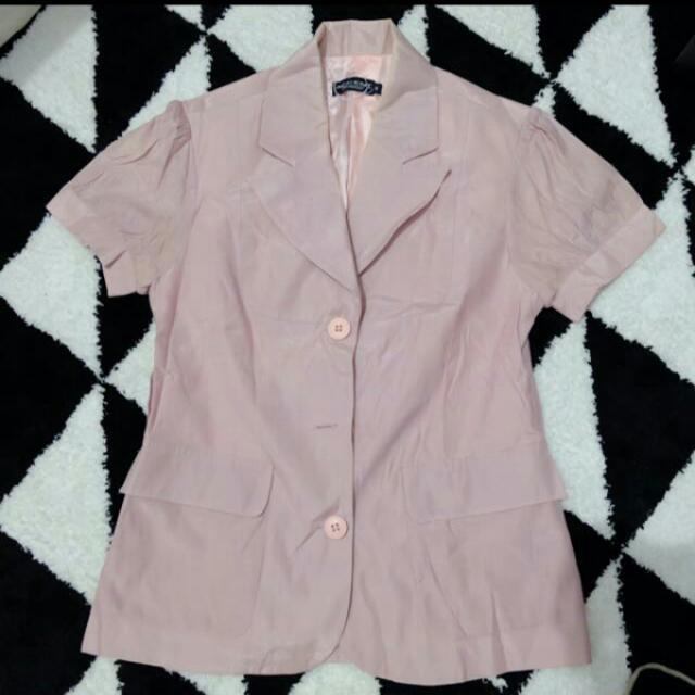 Accent Soft Pink Blazer