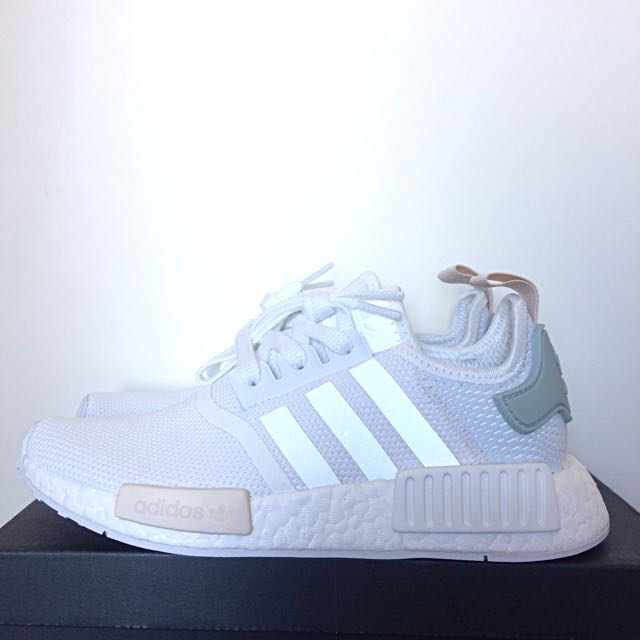 Adidas Original NMD R1 Runner White Tactile Green