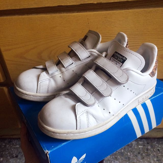 Adidas Stansmith 女 22.5 愛迪達 史密斯 鞋#500元好女鞋