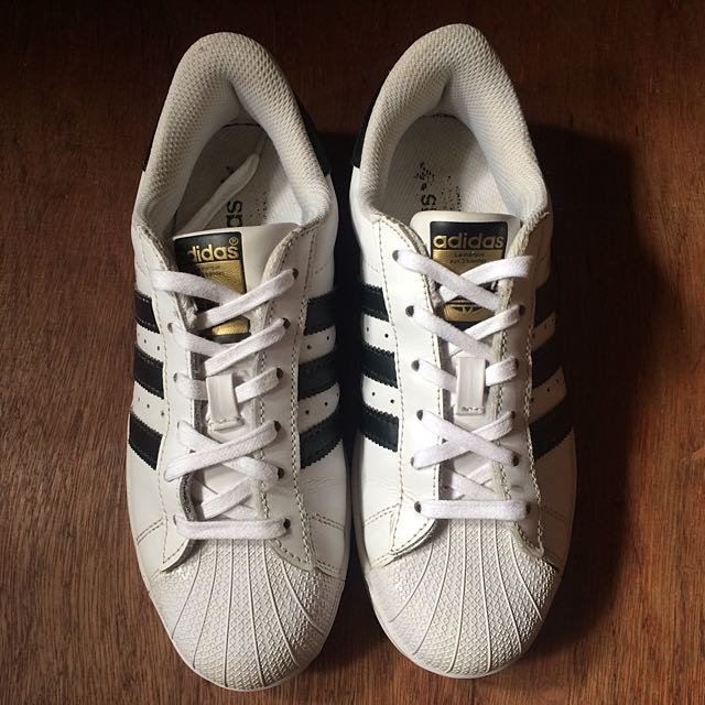 Adidas Superstar White - Black