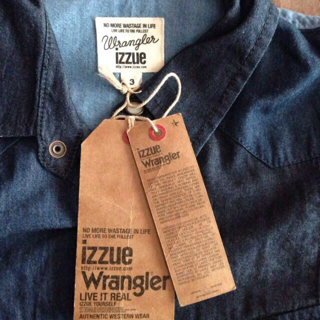 Authentic Brand New Limited Edition New Izzue X Wrangler Size 3 (Small) Denim Western Style Shirt