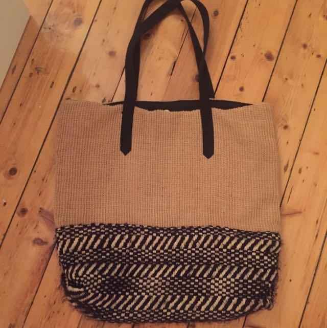 Black And Hesham Beach Bag