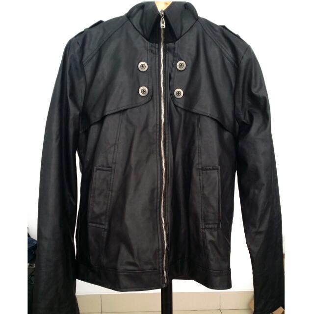 Black Leather Jaket