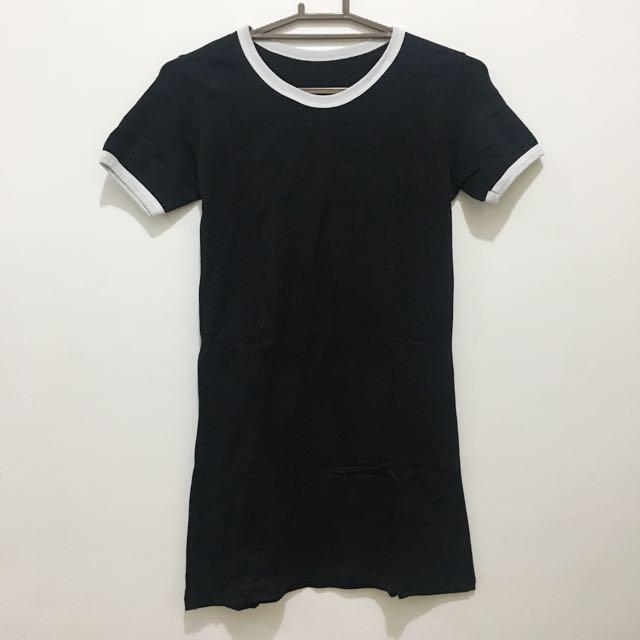 Black Tee Dress