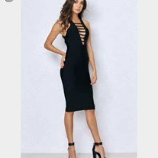 Blackswallow Boutique Bandage Dress RRP $89