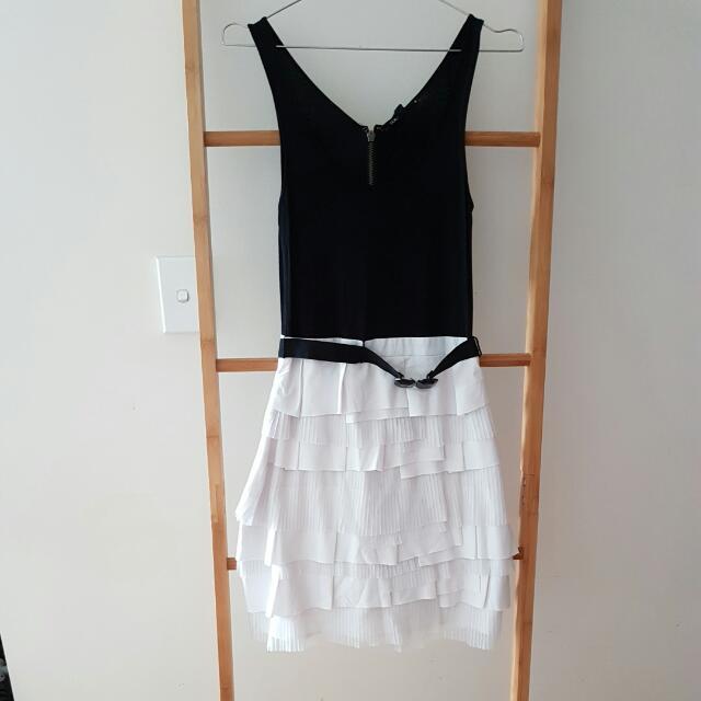 BNWT Tokito Black And White Dress