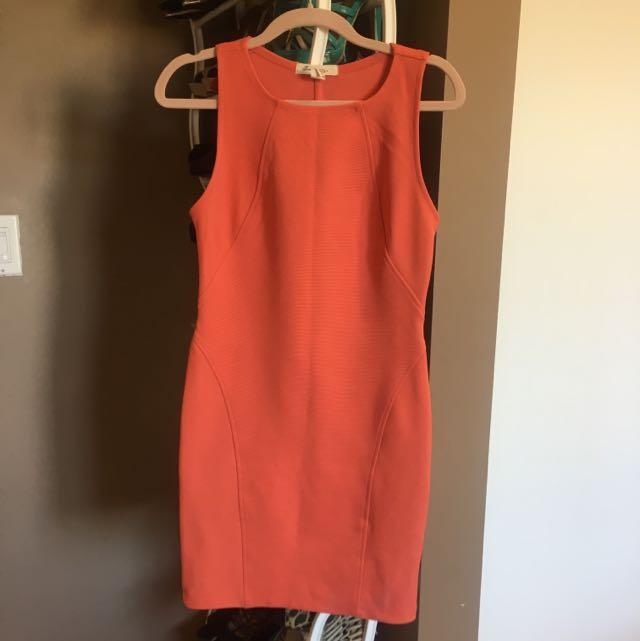Body Coral Dress