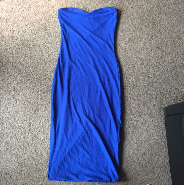 Bodycon Kookaï Blue Dress