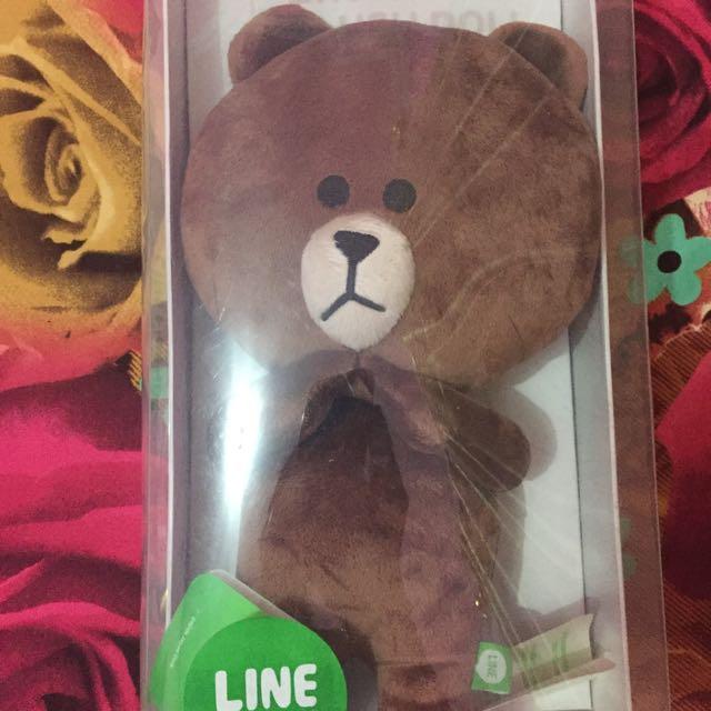 Boneka line brown