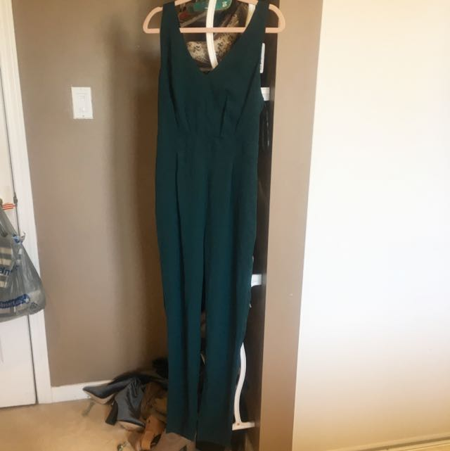 Brand New Open Back Jumpsuit