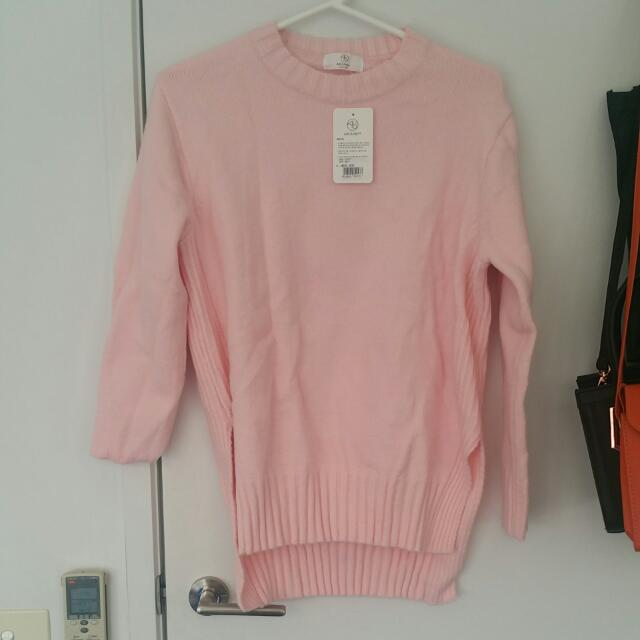 Brand New Pink Sweater