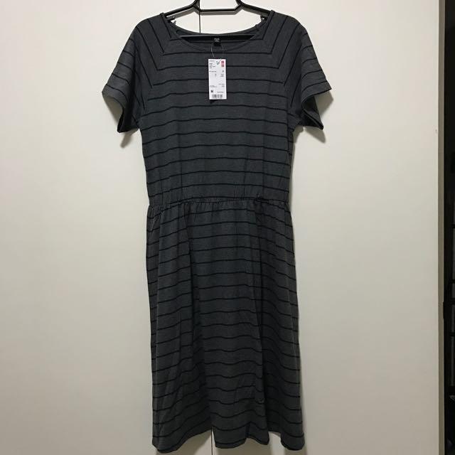Brand New Uniqlo Women Flare Short Dress