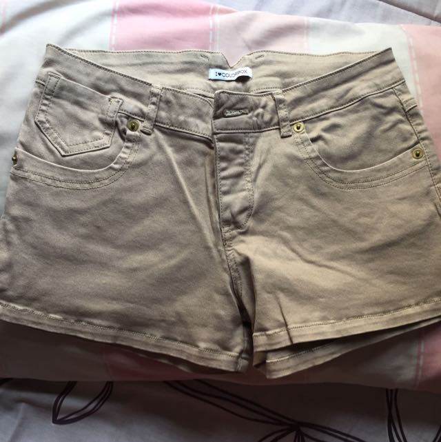 Brown Shorts Colorbox