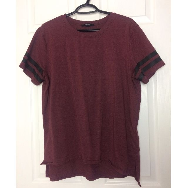Burgandy T-shirt