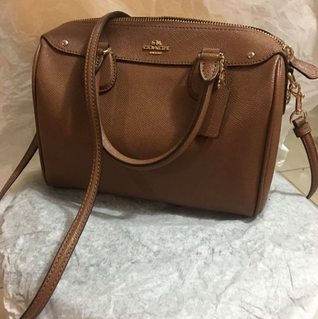 COACH New York Brown Leather Bag