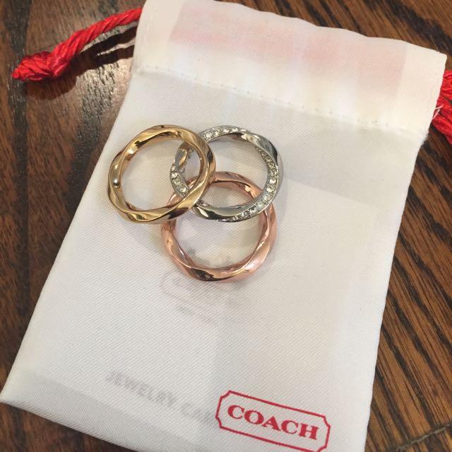 Coach rings