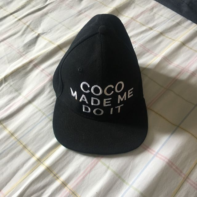 Coco Made Me Do It Hat