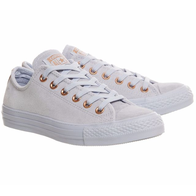 fc4ca4090e9c Converse All Low Leather Trainers - (Limited Edition Spring Blossoms  Exclusive) - Porpoise vapour pink