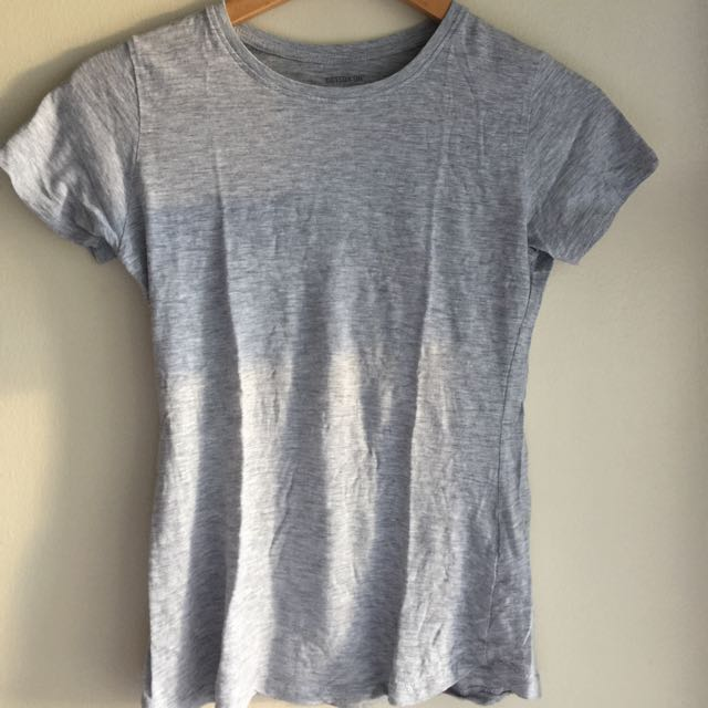 Cotton On Light Gray Crew Neck T-Shirt