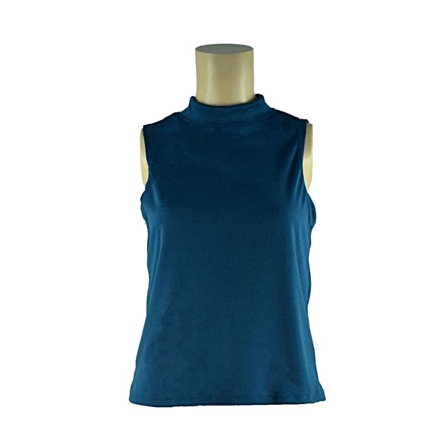 Dame & Bloke Sleeveless (Blue Green)
