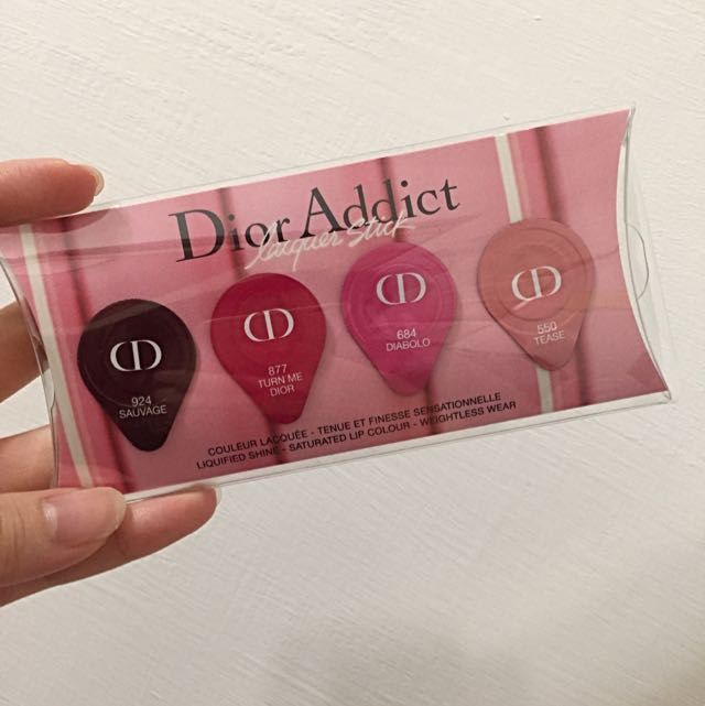 Dior癮誘超模漆光四色試色卡(含運)