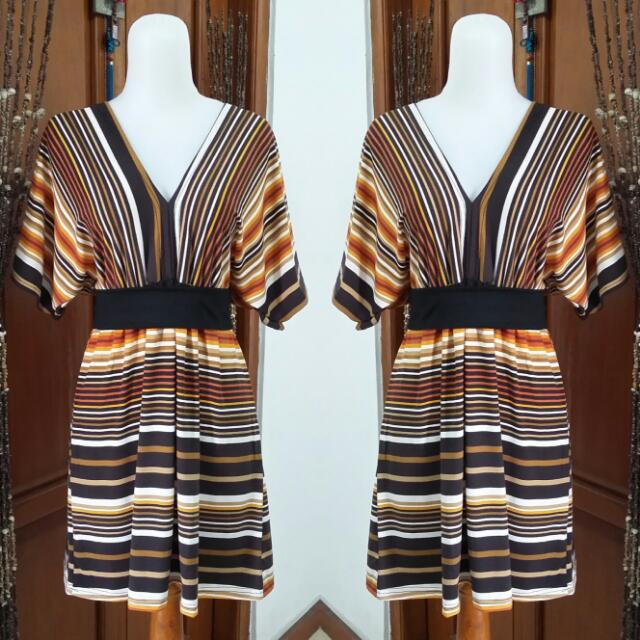 Dress Orange Salur
