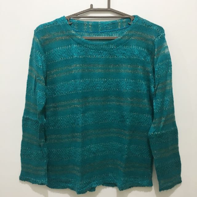 Emerald Knitted Pullover