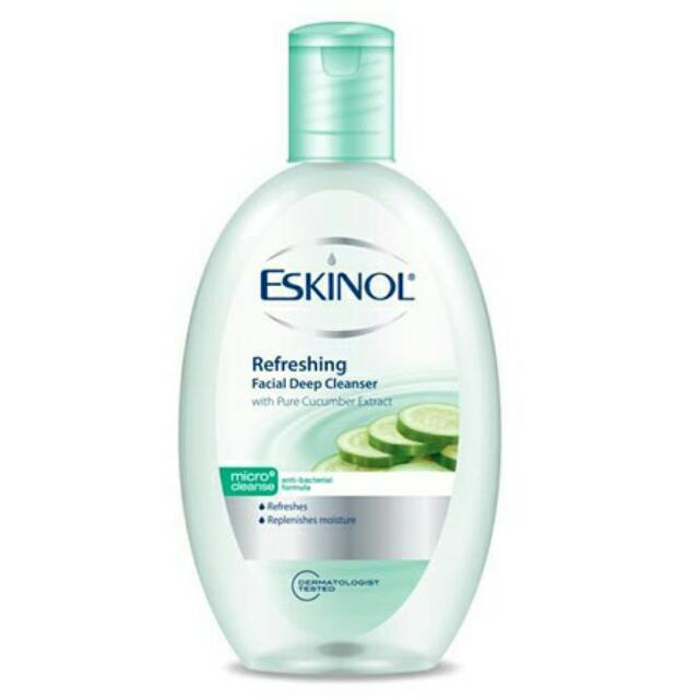 Clearance Stock! Eskinol Refreshing Facial Deep Cleanser 225ml